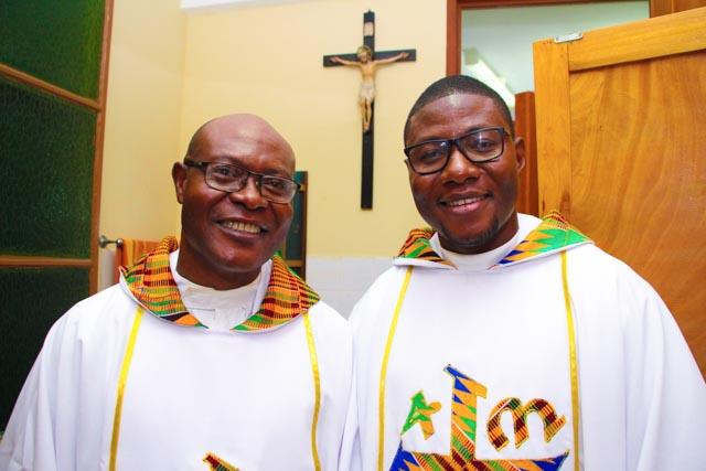 Final Vows of Fr. Edmund Agorhom, SJ