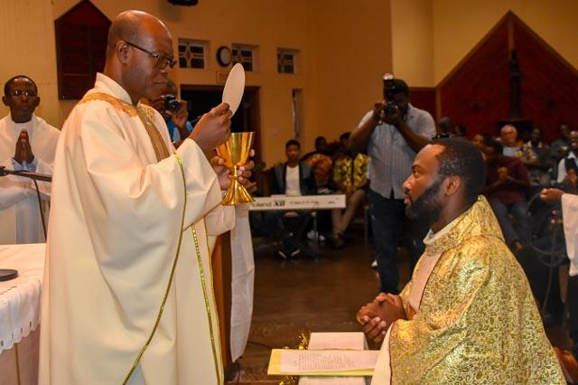 Final vows of Fr. Evaristus Ekwueme, SJ