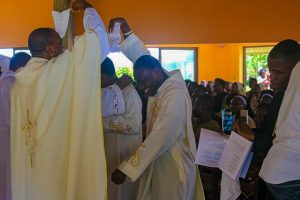 Diaconate Ordination of Evans Appiah, SJ