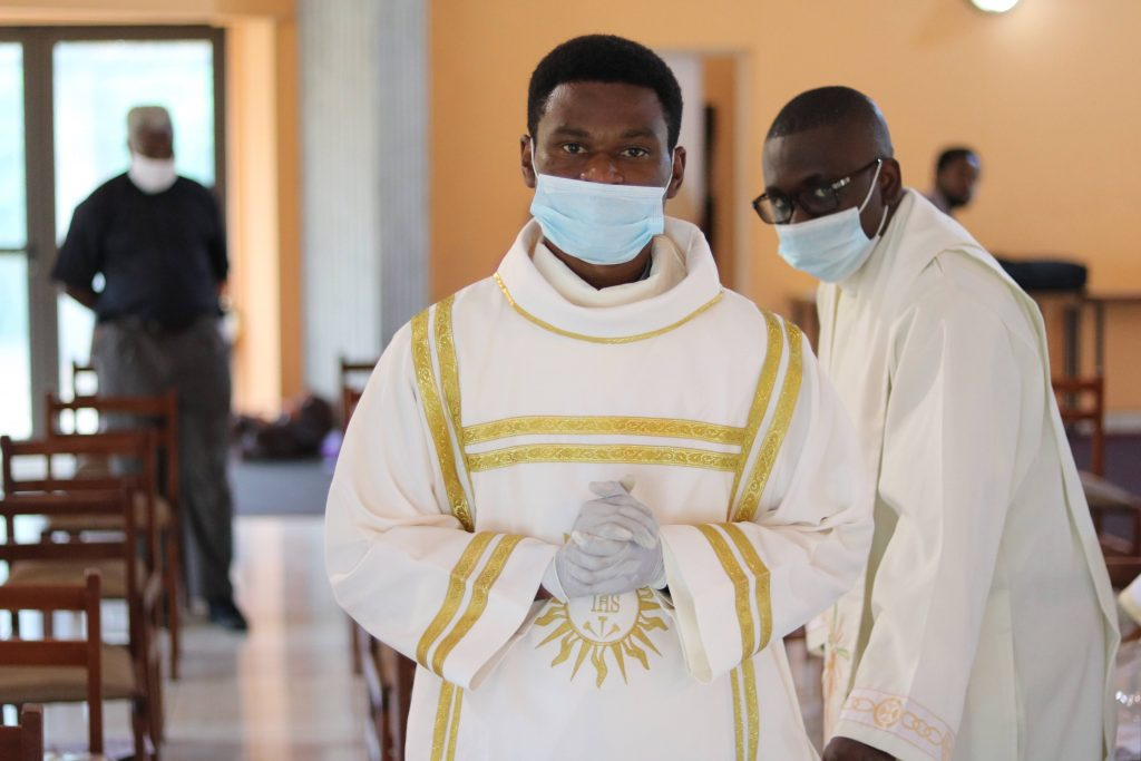 Eziokwu Amadi, S.J., diaconate Ordination