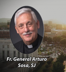 Fr. General, Arturo Sosa's Webinar on Covid-19